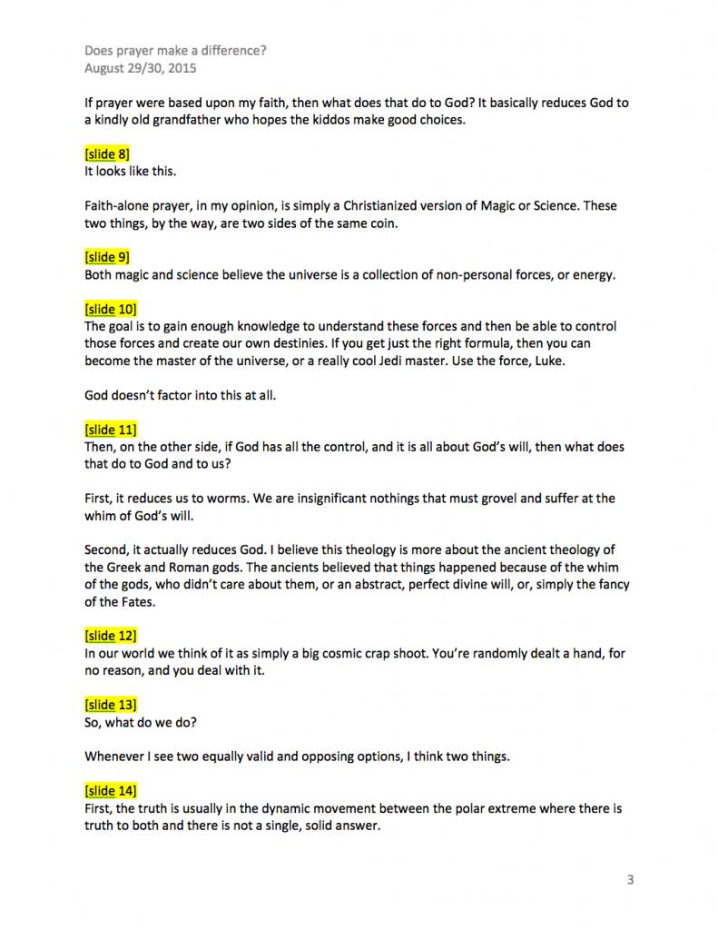 how to write a sermon manuscript