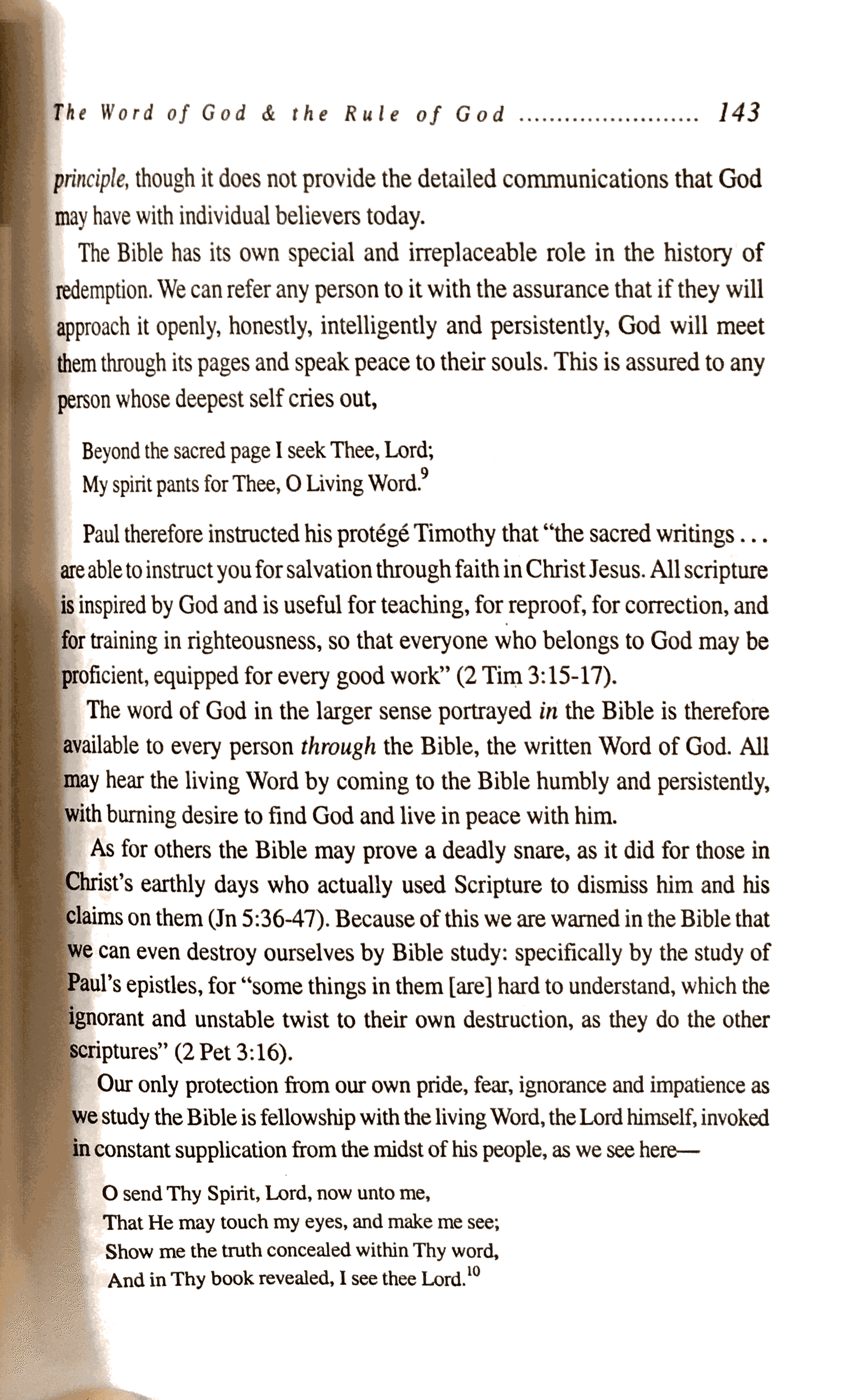Willard on the Word of God 3