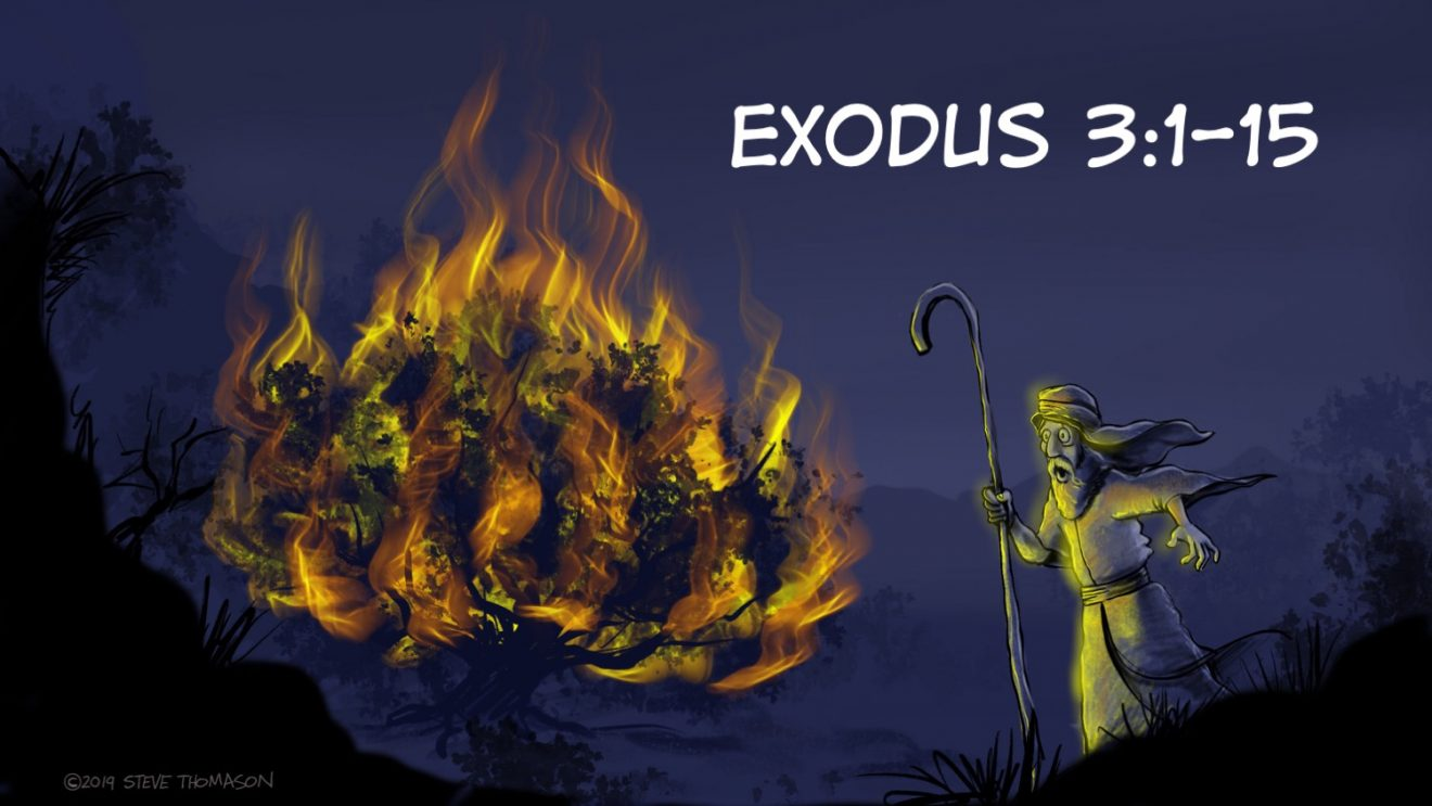 Why I Don't Want to Be The Lead Pastor   A Sermon on Calling from Exodus 3:1-15