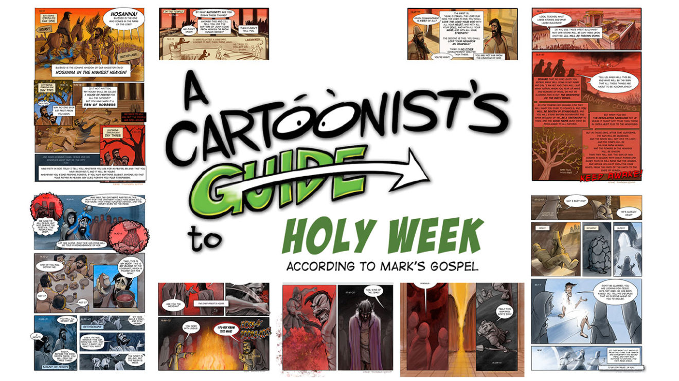 A Cartoonist's Guide to Holy Week Downloads