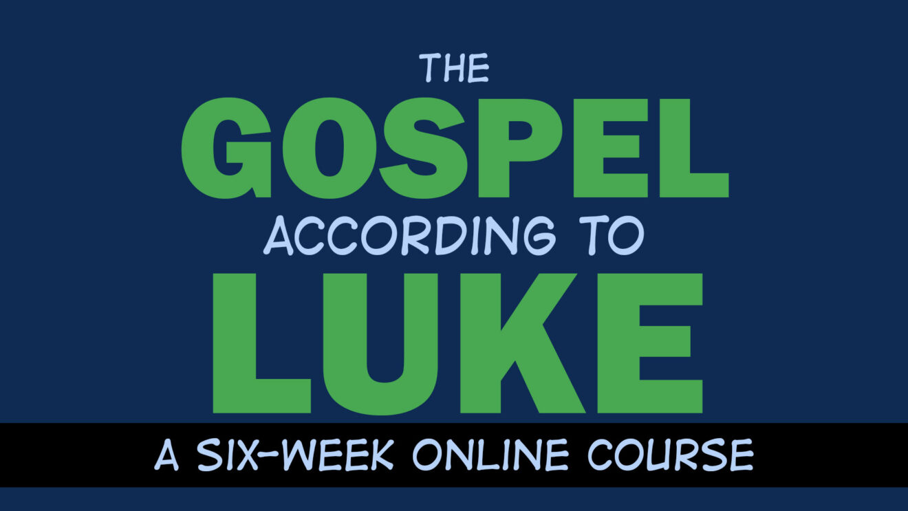 Study the Gospel of Luke with Me in January