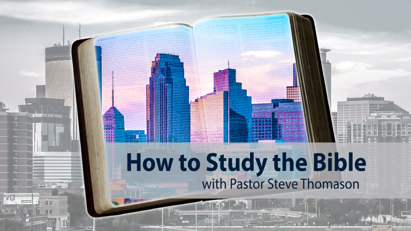 How to Study the Bible   Join the Course